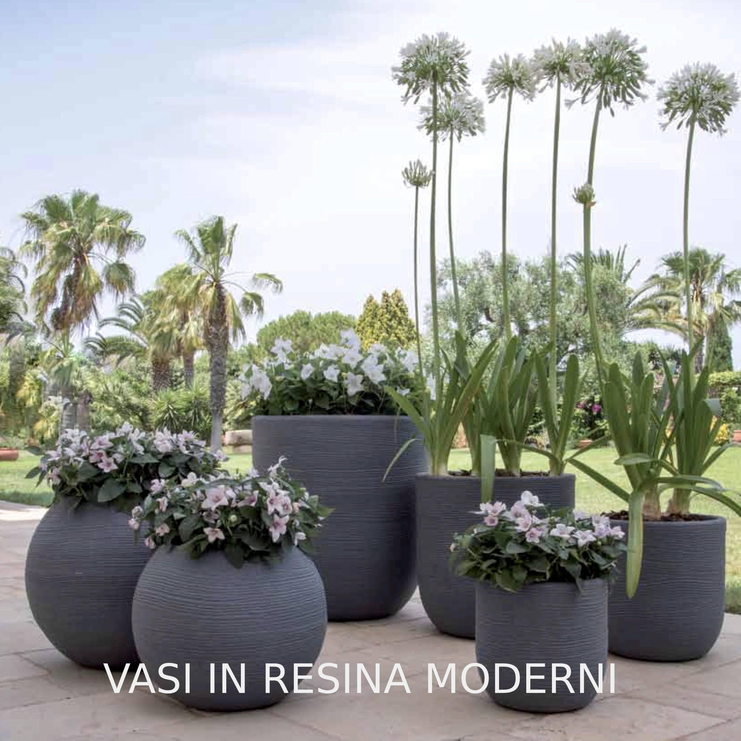Vasi Per Piante Da Terrazzo green più vendita online vasi, fioriera in resina vasar